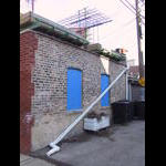 Alley remodeling project on 4/12