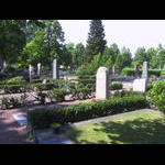 Cemetary in Karlsdad where Dad lost his glasses