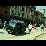 Our guide's van in Nepal