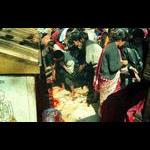 Goat sacrifice outside of Katmandu Nepal