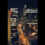 Night shot in Vancouver